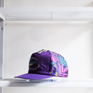 River Hill - Niigata purple totem skateboard youth anniversaries have ears cut flat top five cover antique ski Benn baseball cap peaked cap / baseball cap