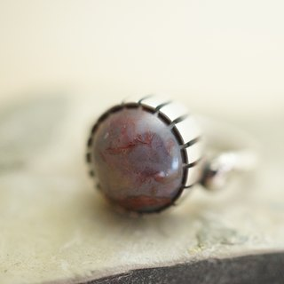 【janvierMade】Pietersite Sterling Silver Ring / Handmade Pietersite and 925 Sterling Silver