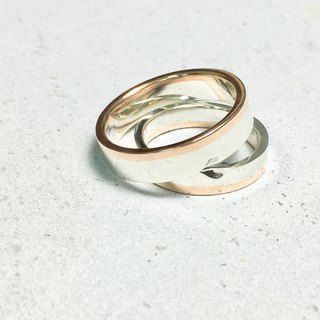AJEOSSI [handmade × custom] 925 sterling silver × couple ring / wedding ring / Valentine's Day (pair)