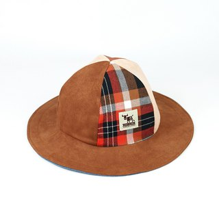 Handmade double-sided hat