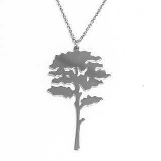 Abstract  tree pendant