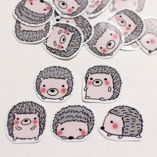 Mini Sticker Bag_Small Hedgehog (20 in)