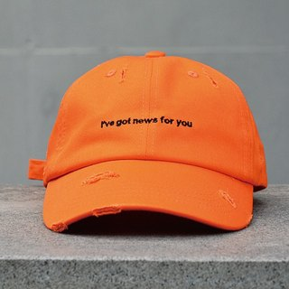 HWPD │ Embroidered Baseball Rugged Orange (see Kanye West / Yeezy / Justin Bieber)