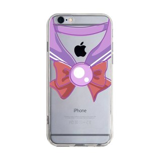 Transparent Sailor Uniform Purple Samsung S5 S6 S7 note4 note5 iPhone 5 5s 6 6s 6 plus 7 7 plus ASUS HTC m9 Sony LG g4 g5 v10 Phone Case Mobile Phone Case phonecase
