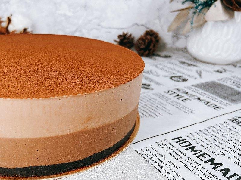 5吋 巧克力生乳酪慕斯蛋糕