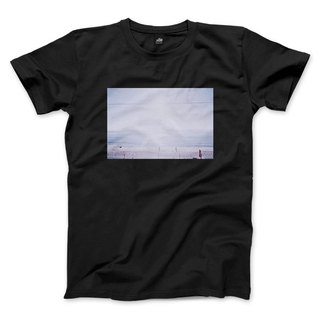 A scene at Sea - Black - Neutral Edition T-shirt