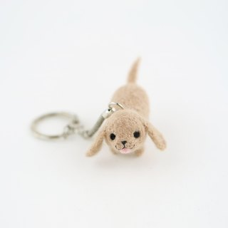 Walk the dog Key ring – Dachshund