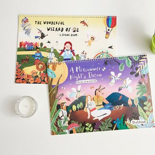 7321 pure fairy tale sketchbook - A Midsummer Night's Dream, 73D70081