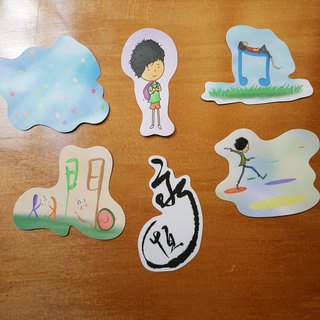 Completely waterproof sticker - graphic 2
