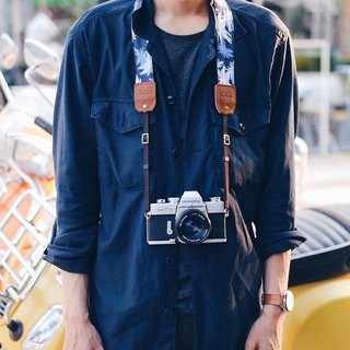 ฺBlue Hawaii Camera Strap