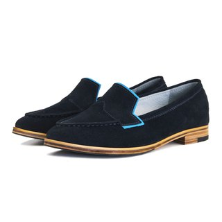 Je Suis Moi W1049A Navy Point-Toe Flats