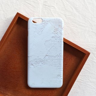 White wall phone case hard shell iPhone Android