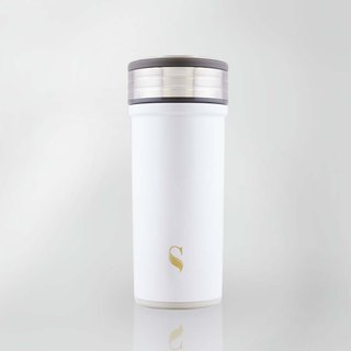 Swanz Porcelain Tumbler Glisten Collection-Stone White