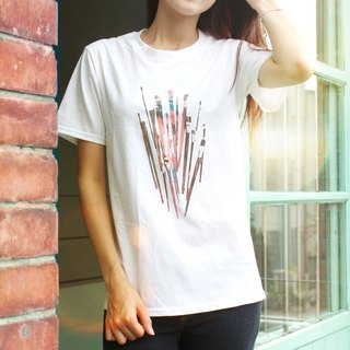 Brush - Cotton Short T- Brushes/Unisex t-shirt
