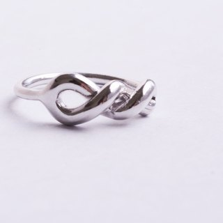 Natural Series - Flying -925 Silver Hand Ring