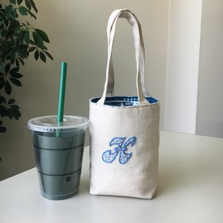 Cafe Bag Initial H Mini Tote