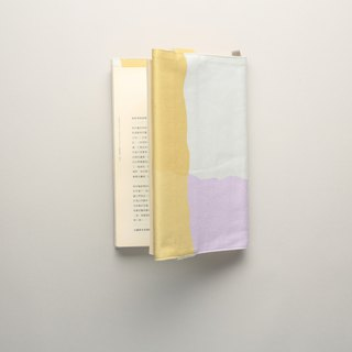 Book clothes / waterproof paint / yellow purple