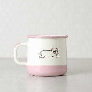 Lazy lazy enamel cup -400ml