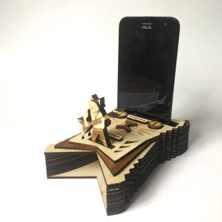 【Cat Guitar - Speaker】 Cool concert stage mobile phone