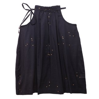 Ahilya Classic Dress in Dark Sky