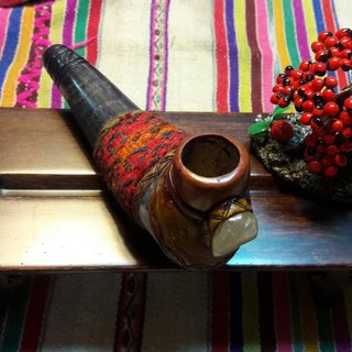 Peru claw handmade pipes