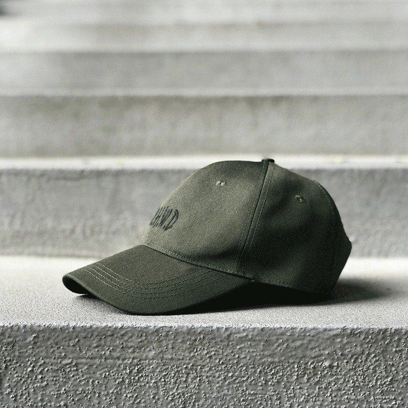 Matchwood Design Matchwood MHWD LOGO SPORT CAP Waterproof and Anti-fouling  Old Cap Army Green - Designer matchwood  88051956b934c