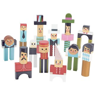 Vilac Ingela P. Arrhenius – Character Stacking Blocks