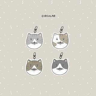 Circular Circular Face - Piglet/ Badge