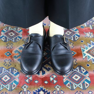 Back to Green-Dr. Martens Monk shoes vintage shoes