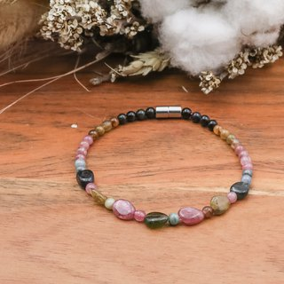 Stone of Hope | Tourmaline Irregular Stone Bracelets Natural Stone Bracelet
