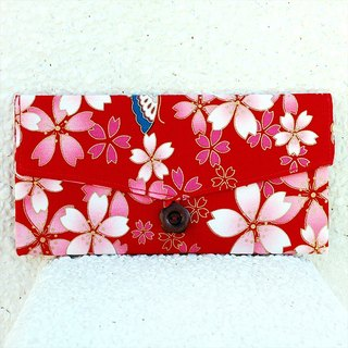 Cherry butterfly red bag _ red / pouch