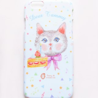 Plump lovely Cat Cat Phone Case (including printed name service)