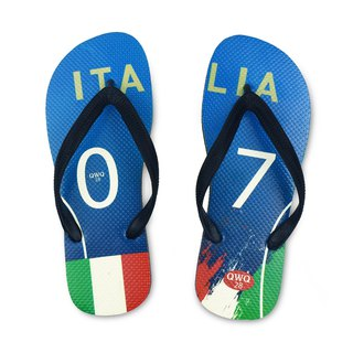 QWQ creative design flip-flops - Italy - men's [limited]