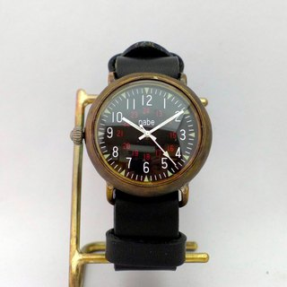 "Handmade watch ""Armor-JB-ML"" JUMBO Brass NATO belt (JUM 155 BKNATO)"