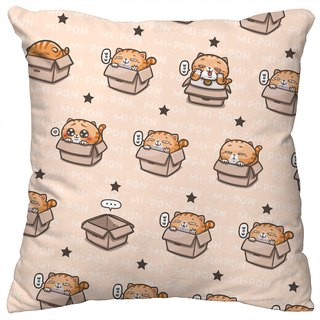 One god cat rice incense series pillow [rice rice box]