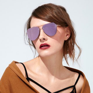 Fashion Eyewear - Sunglasses Sunglasses / Audrey Rose Gold