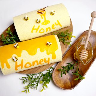 Honey cake roll (optional roll)