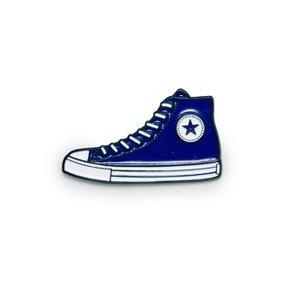 Blue Sneakers Pin