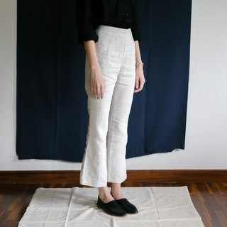 Bell Bottom Pants color natural