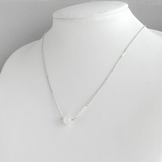 Moonstone necklace / silver925 /