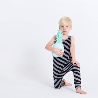 Nordic organic children's harness jumpsuit