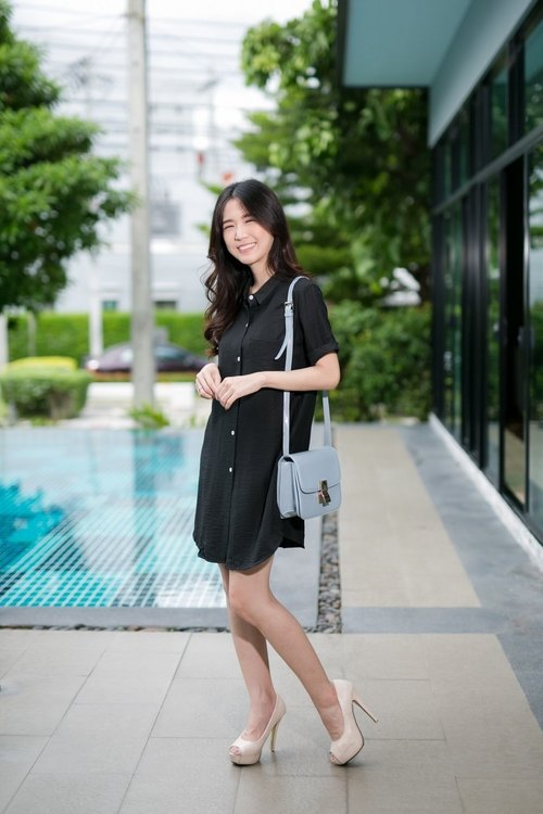 Mona shirt dress