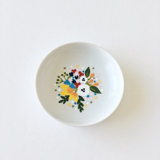Floral Trinket Dish (Customizable)