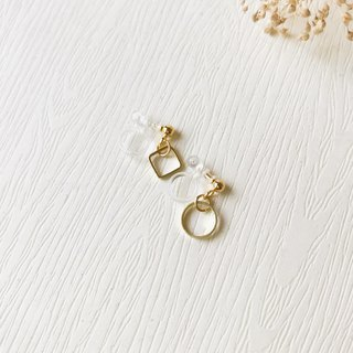 Small hanging clip earrings - unilateral can mix and match