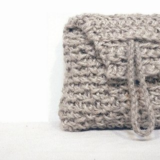 Exclusive Order - Hand woven hemp rope Clutch