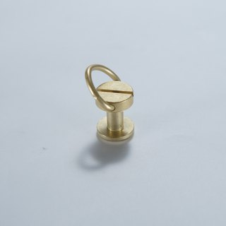 Belt head connection butt joint screw brass color 5 20 yuan / piece - purchase goods