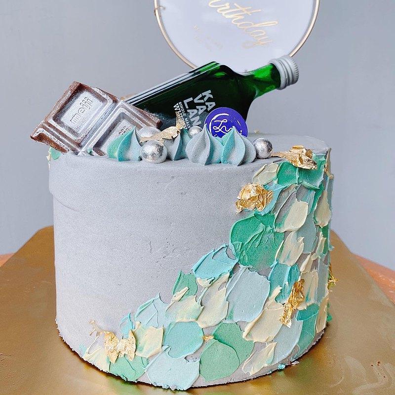【客製化蛋糕】酒鬼系列蛋糕