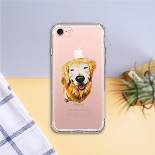 Ice shell - hair kid [Innocent Golden Retriever] full version of the protective cover for iPhone 7 (iPhone 7 Plus, i7) - Original phone case / case / shatter-resistant shell / phone shell