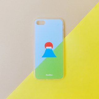 Fuji mountain-Grass phone case