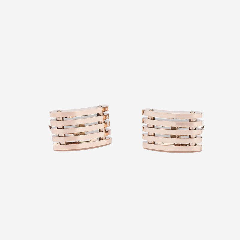Maverick & Co. - High Line Cufflinks (Rose Gold)